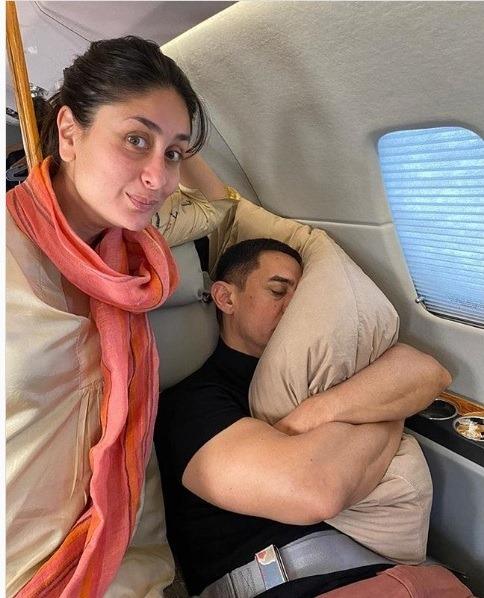 करीना ने दी आमिर खान को ऐसे वर्थ डे विश