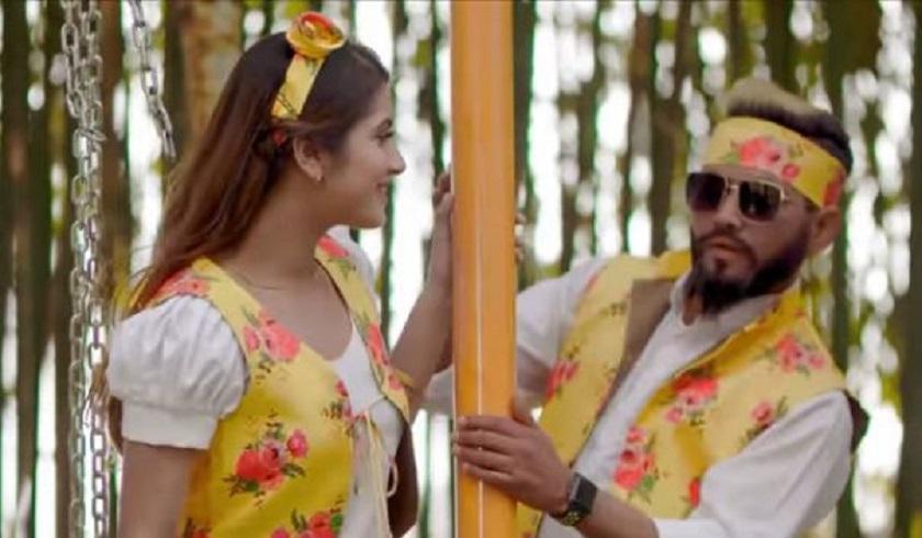 'लालुमै' के गायक सन्दीप द्वारा लाया गया एक नया गाना 'सान्बाबु'